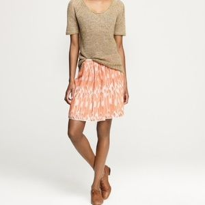 [J.Crew] Ikat Swing Skirt